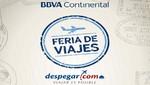 Despegar.com y BBVA Continental lanzan feria de viajes con paquetes exclusivos desde U$D 99