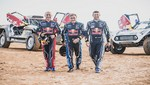 Carlos Sainz, Cyril Despres y Stéphane Peterhansel conforman 'dream team' para el Dakar 2019