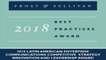 Avaya recibe el premio Frost & Sullivan a la Innovación y Liderazgo Estratégico Competitivo 2018
