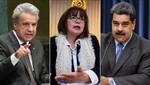 Ecuador expulsó a embajador de Venezuela