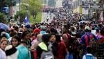 Caravana de 3.000 migrantes centroamericanos se prepara para ingresar a México