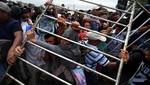 México: miles de migrantes quedaron atrapados cuando la caravana se detuvo en la frontera sur
