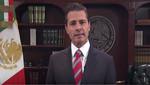 Enrique Peña Nieto: 'México no permite ni permitirá el ingreso a su territorio de manera irregular y mucho menos de forma violenta'