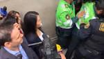 Keiko Fujimori optó por hacerse presente a la audencia donde se evaluará pedido de prisión preventiva en su contra