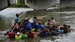 La caravana de migrantes cruzó frontera mexicana y desafía a Donald Trump