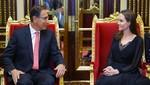 Presidente Vizcarra dialogó con Angelina Jolie enviada especial del ACNUR