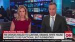 Oficinas de CNN fueron evacuadas, mientras estaban al aire, debido a una amenaza de bomba [VIDEOS]