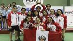 17 medallas más para Perú en el Sudamericano de Bádminton