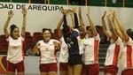 Selección de vóleibol logra el primer triunfo peruano en Arequipa 2018