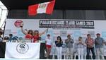 Se inauguró los Panamericanos de Surf en Punta Rocas