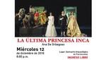 Proyectarán video arte 'La Última Princesa Inca' sobre pirámides de Pachacamac