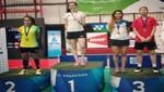 Bádminton peruano logra medallas en El Salvador International 2018