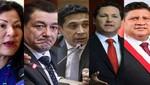 Fuerza Popular pierde cinco congresistas: Salaverry, Ushñahua, Castro, Reátegui y Ponce