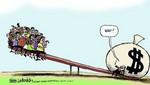 Desigualdad económica mundial: 26 multimillonarios poseen tanta riqueza como la mitad de la humanidad