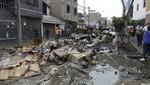 Daño ambiental por rotura de tubería de desagüe en San Juan de Lurigancho es 'muy grave'