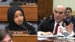 La representante demócrata Ilhan Omar encaró a Elliott Abrams, representante de Deonald Trump para Venezuela