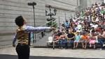 Proyecciones de teatro, danza, cine, conciertos de música, teatro familiar en Plazuela de las Artes