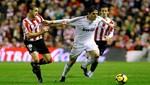 Real Madrid goleó al Bilbao y sigue líder