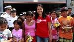Nadine Heredia lucha por la inversión infantil
