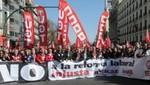 Trabajadores de Portugal entraron hoy en un paro general