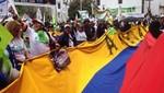 Marchas a favor y en contra de Rafael Correa vienen desarrollándose en Ecuador