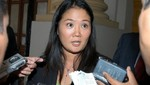 Keiko: Indulto para mi padre será presentado en las próximas semanas