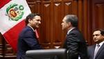 Congreso otorgó voto de confianza al Gabinete Ministerial
