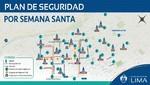 Estos serán los cierres de calles en Lima por Semana Santa