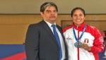 La peruana Alexandra Grande ganó medalla de plata en la Premier League Serie A Estambul