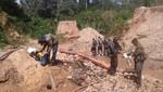 Intervención conjunta frena actividades de minería ilegal en zona de amortiguamiento de la Reserva Comunal El Sira