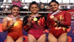 Selección Peruana de Gimnasia logra seis medallas en Sudamericano de Chile