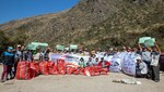 Cerca de 400 kilos de residuos son recolectados en jornada de limpieza en la Red de Caminos Inca del SH de Machupicchu