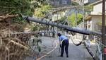 El tifón Faxai se cobra su primera victima en Tokio