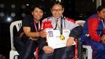 Huancaína Milenka Vásquez ganó dos medallas de oro en paranatación