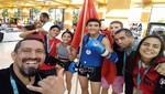 Peruanos clasifican a semifinales del Mundial Juvenil de Muaythai