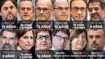 España: La Corte Suprema condeno a políticos catalanes por el impulso de independencia