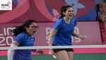 Daniela Macías y Dánica Nishimura ganan medalla de oro International Series de Baréin