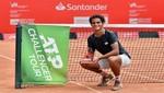El peruano Juan Pablo Varillas gana el Challenger de Santo Domingo