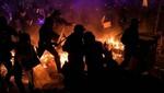 La violencia callejera se intensificó en Barcelona tras el encarcelamiento de separatistas catalanes