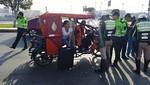 Intervienen motos lineales en inmediaciones del Aeropuerto Jorge Chavez