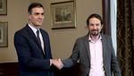 Los socialistas gobernantes de España llegan a un acuerdo de coalición con Unidos Podemos