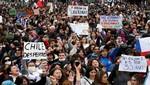 Chile: cientos de miles participan en protestas mientras el peso alcanza un mínimo histórico