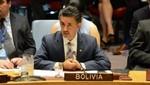 Bolivia: embajador Sacha Llorenti ante la ONU dijo que no renunciaría al cargo