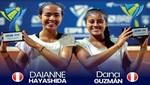 Daianne Hayashida y Dana Guzmán campeonas en Sudamericano De Brasil