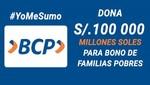 Conoce cómo donar a #YoMeSumo y apoyar a las familias que más lo necesitan