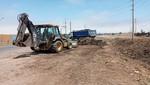 Municipalidad de lima retiró 280 metros cúbicos de desechos en canal que alimenta Los Pantanos De Villa