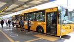 Municipalidad de Lima realiza demarcación para distanciamiento entre usuarios en terminales del metropolitano