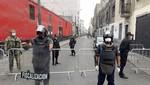 Refuerzan fiscalización en alrededores de Mesa Redonda tras intervención del Ejército y PNP
