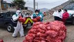 Municipalidad de Lima donó costalillos con alimentos perecibles a familias vulnerables de Villa María El Triunfo