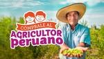 Minagri lanza campaña 'Cómprale al agricultor peruano'